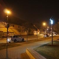 Veřejné solární osvětlení